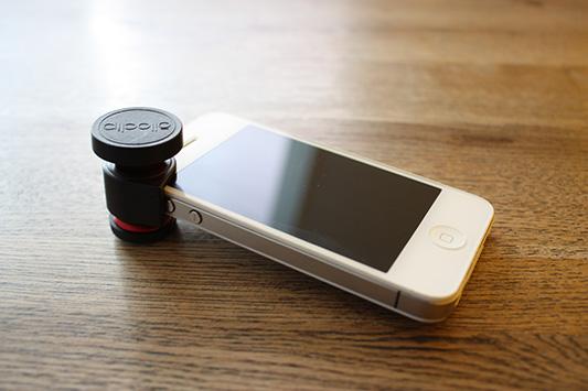iPhone用カメラ取り付け