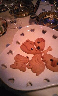 カエルのクッキー