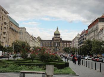 チェコ プラハ ヴァ-ツラフ広場
