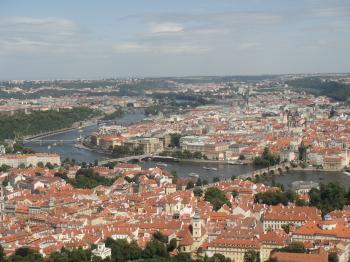 チェコ プラハ 展望台からの景色