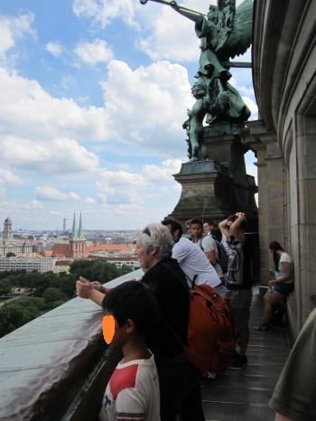 ベルリン大聖堂からの景色