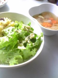 サラダとポトフ