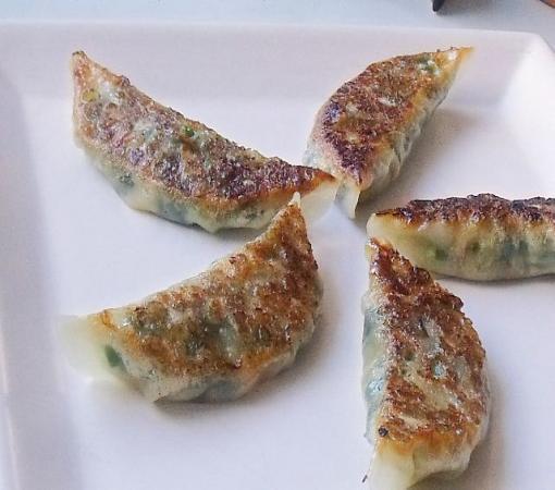 肉味噌風餃子①