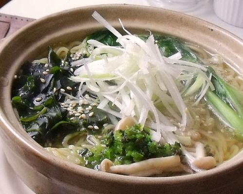 ラーメン鍋②