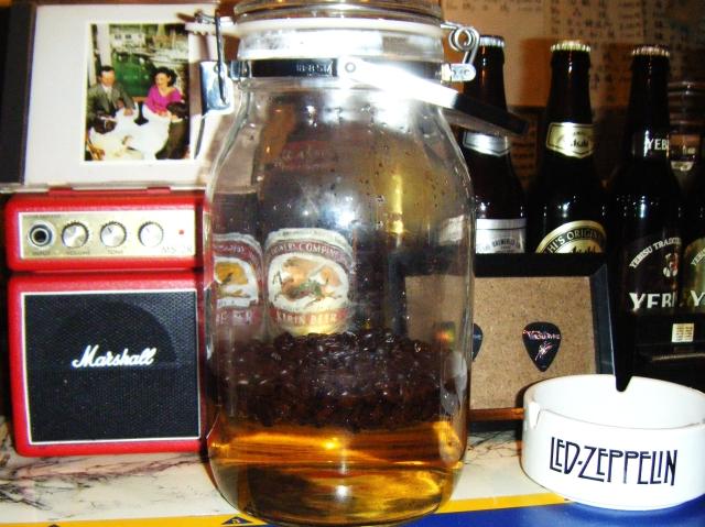 コーヒー焼酎アングラ 004