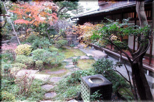 横山大観の庭園