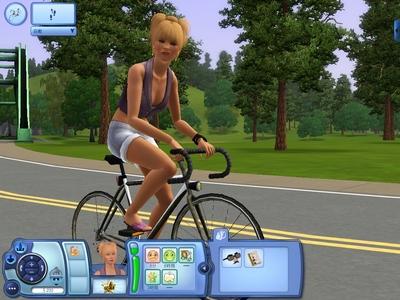 自転車に乗れる