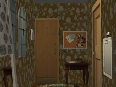 1号室玄関