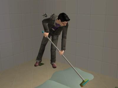 お掃除担当