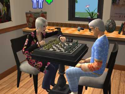 二人ともチェス苦手