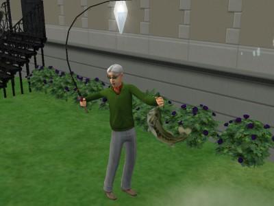 釣りじいさん