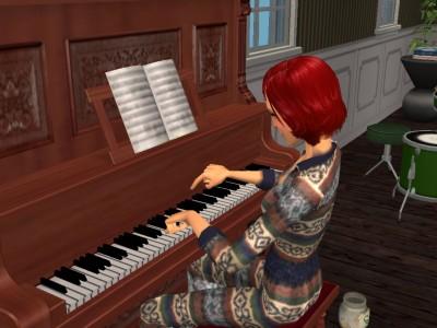 ピアノにハマった?