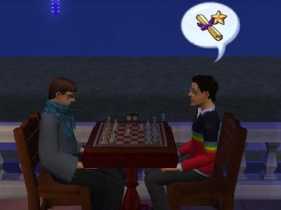 父子でチェス
