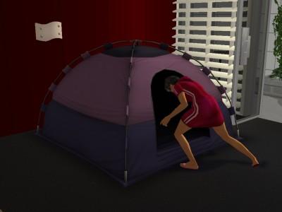 テントがお好き