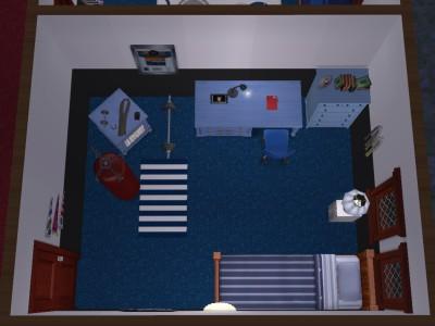 先輩の部屋