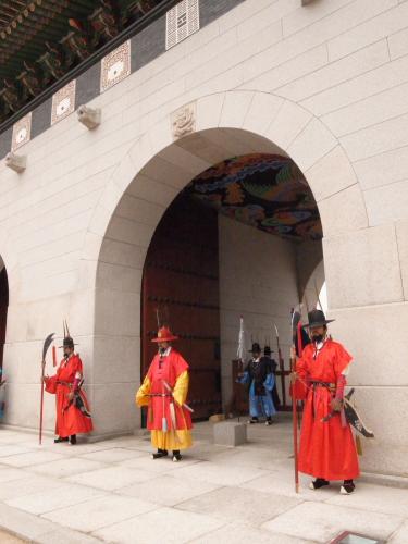 景福宮(キョンボックン)の入り口