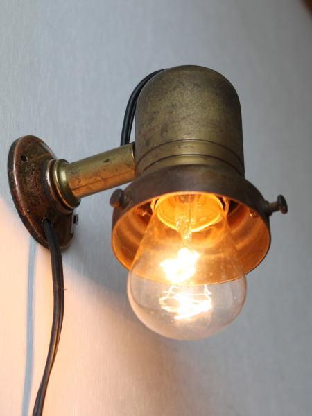 シェードホルダー付工業系ウォールランプA/アンティークライト 2011/02/28