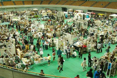 和歌山ビッグホエールにて開催されたchouchou!market 10
