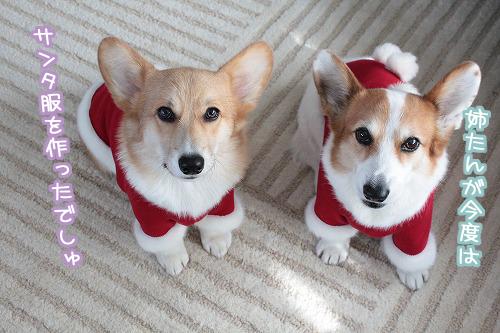 サンタ服を作りました