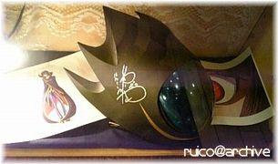 201008ギアスカフェ_ゼロ仮面サイン入り