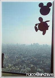 劇場版ガンダム00スタンプラリー展望台ロックオン02