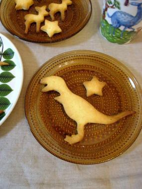 dinosaurs cookie