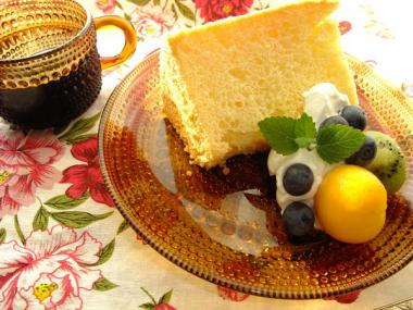 chiffon-cake×kastehelmi