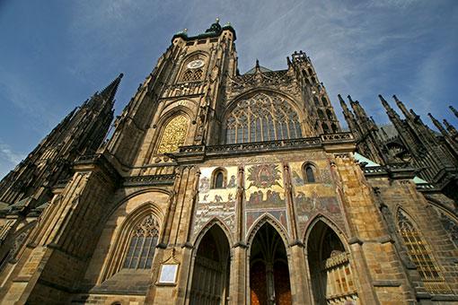 プラハ城 黄金の門