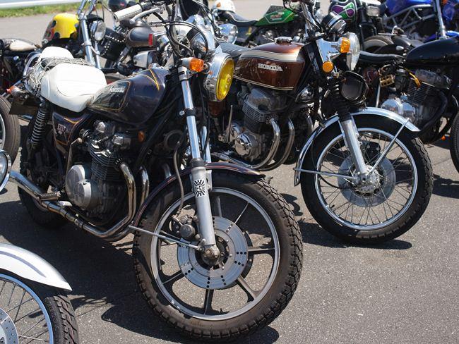 Z650LTD&CB750