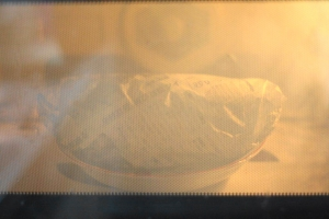 電子レンジとホームベーカリーで焼き芋パン4