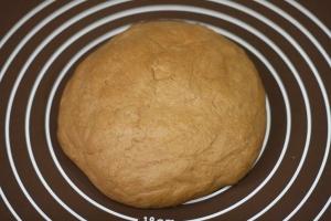 電子レンジとホームベーカリーで焼き芋パン8