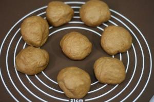 電子レンジとホームベーカリーで焼き芋パン9