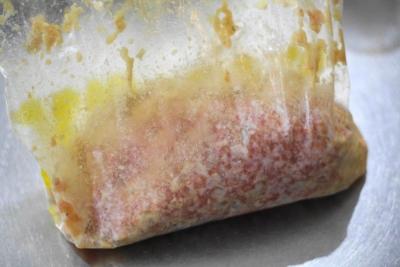 レンジで作る豆腐とひき肉のキャベツミルフィーユ6