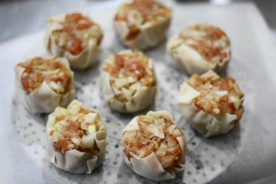 受験生応援レシピ 鮭と玉ねぎのシュウマイで成績アップ?!5