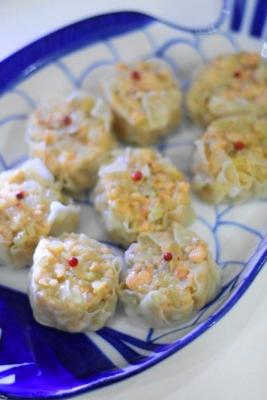 受験生応援レシピ 鮭と玉ねぎのシュウマイで成績アップ?!b