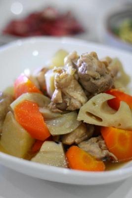 鶏肉と根菜と旨煮2