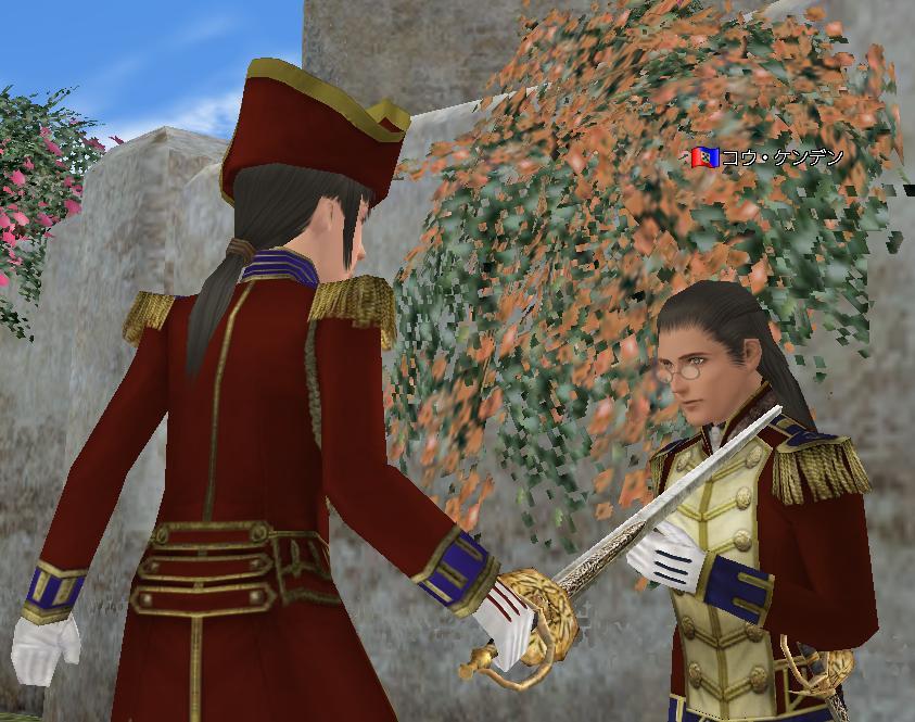 騎士の誓いの儀式風2