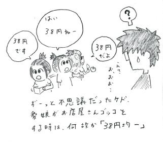 1コマ38円