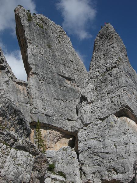 Torre Quarta BassaとTorre Quorta Alta