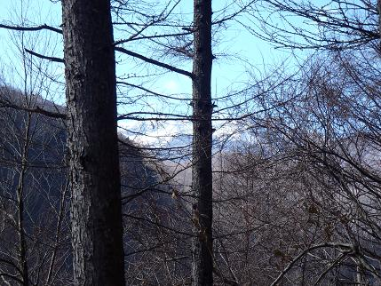 湯川からの八ヶ岳