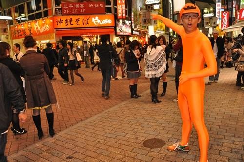 2011年のハロウィン・渋谷