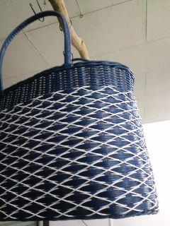 掛け編みバッグ【こん】