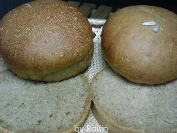 20100626玄米粉&コーヒーバンズbyレーズン酵母1