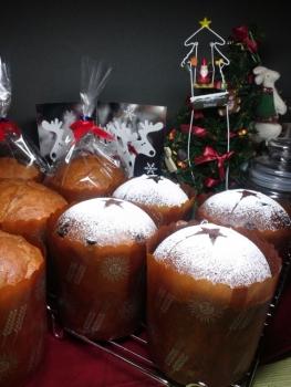 20131224クリスマスパネトーネbyレーズン酵母