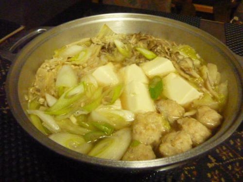鶏しょうが鍋