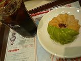 ミスタードーナッツ(抹茶屑あずきフレンチ)2