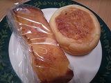 神楽坂 龜井堂(フレンチトースト&野沢菜パン)