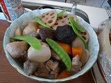100925_御飯(筑前煮)
