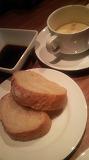 ビーフオークマ(パン&スープ)