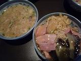 LeDragonBlue(卵スープ&餡かけやきそば)